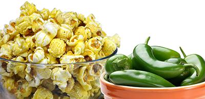 Creamy Jalapeño Ranch Popcorn