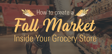 grocery store fall market