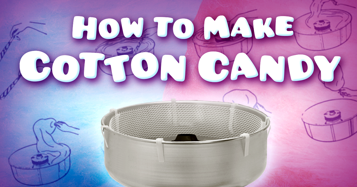 How to Make Cotton Candy