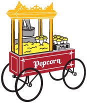 Gold Medal Popcorn Cart