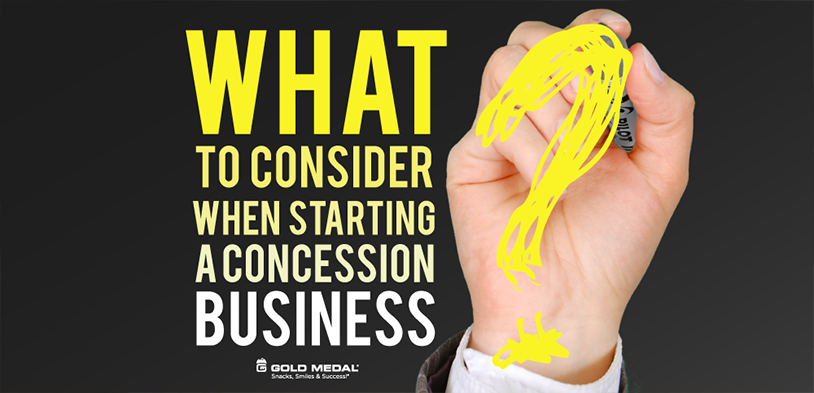 What to Consider When Starting a Concession Business